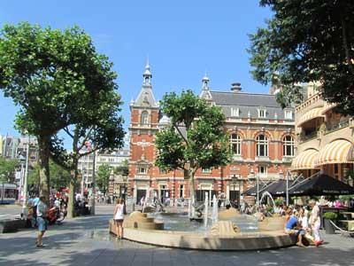 Alojarse en Leidseplein Amsterdam para vivir la vida nocturna