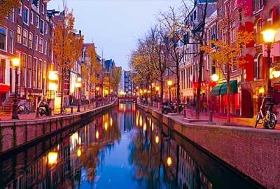 Alojarse en el Barrio Rojo de Amsterdam