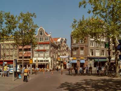 Lugares para alojarse en Amsterdam Rembrandtplein